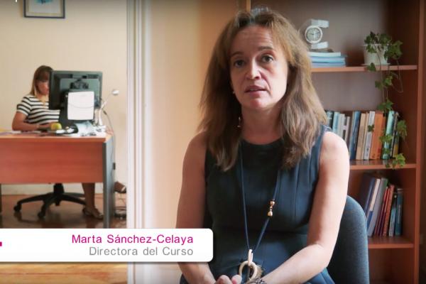 Marta Sánchez-Celaya, directora del curso