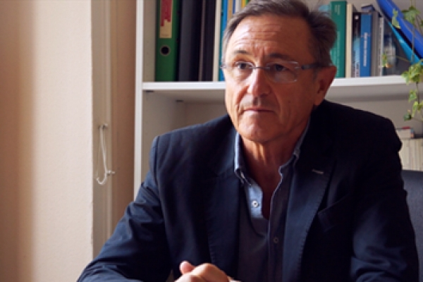Vicente Bertomeu, responsable de Formación de la Fundación IMAS